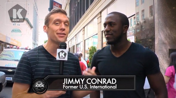 ALTIDORE TALKS WITH KICK TV AT NEW YORK CITY EVENT