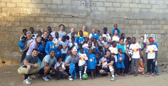 ALTIDORE TEAMS UP WITH RBNY, ADIDAS, PITT ATHLETES TO HELP HAITIAN ORPHANS