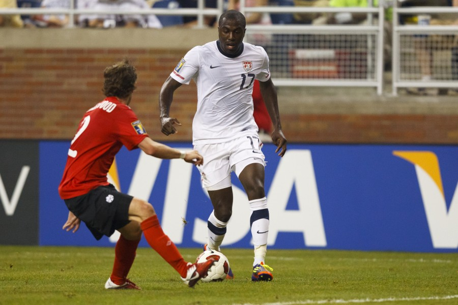 ALTIDORE CHECKS IN WITH OLD FRIENDS DURING VISIT TO RED BULL ARENA IN N.J.
