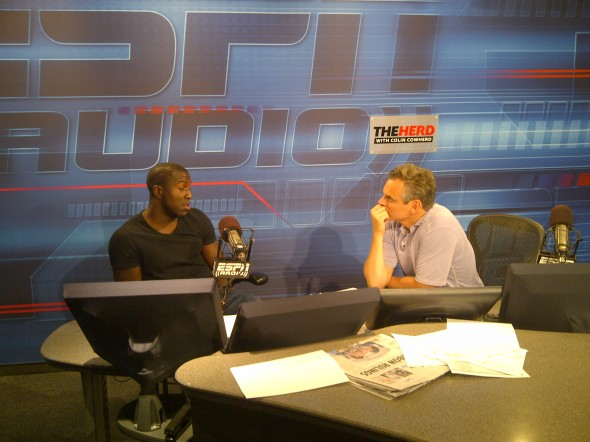 ESPN RADIO: ALTIDORE SITS DOWN WITH HOST COLIN COWHERD ON 'THE HERD'