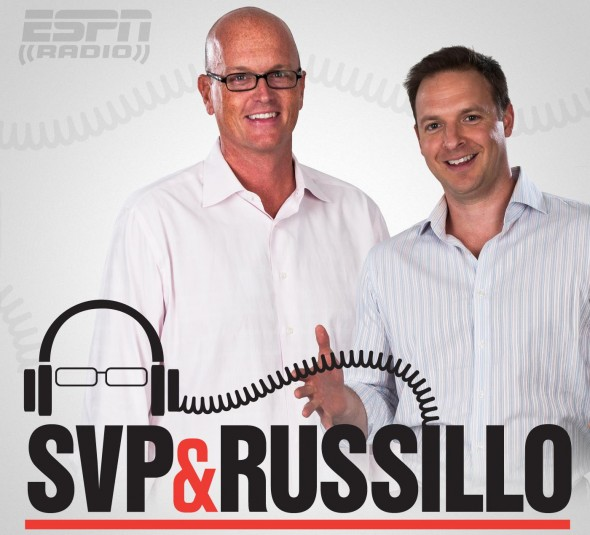 "ESPN RADIO: ALTIDORE, VAN PELT CHAT ON POPULAR 'SVP & RUSSILLO"" TALK SHOW"