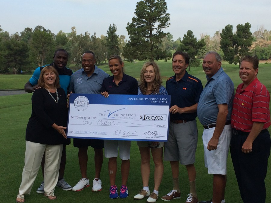 ALTIDORE PARTICIPATES IN GOLF EVENT, HELPS RAISE FUNDING FOR V FOUNDATION