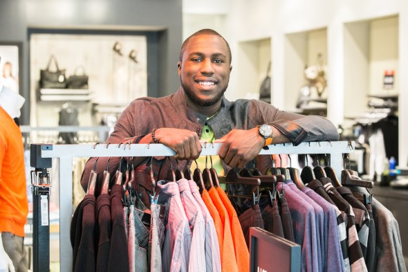 ALTIDORE ENJOYS DAY OF FASHION WITH KENNETH COLE DURING ESPY FESTIVITIES